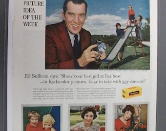 MOV 206  Eastman Kodak Film Ad  - June 18, 1960