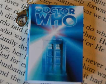 Doctor Who - Zipper Charm - Purse Charm - Keychain - Free Shipping