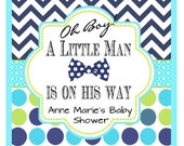 Reserved for Anne Marie's Baby Shower, set of 60