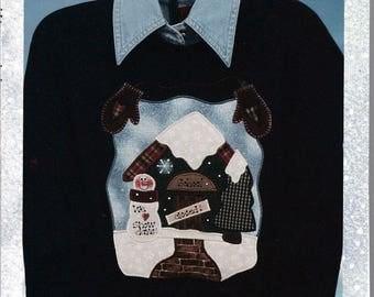 We Love Snow Days by Karen's Kraftwear - Applique Sewing Pattern