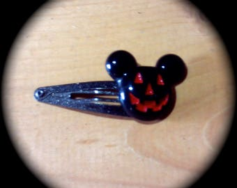 BOO Mouse Ears Hair Clip for Everyday Wear Boho Fashion fantasy Cottage Chic girl medallion Halloween