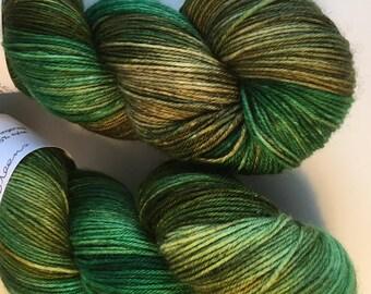 Greens  4ply Sock Wool/Nylon Yarn 100gms 400mtrs