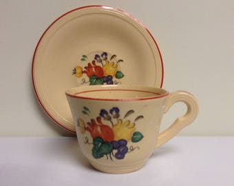 Edwin Knowles Cup and Saucer
