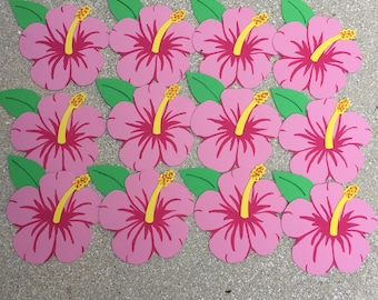 READY TO SHIP - Almost! - Hibiscus Flower Party Bags
