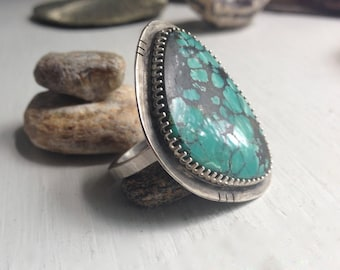 Turquoise Cloud Ring