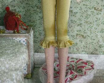 jiajiadoll - yellow silk laced legging pants fit Blythe Middie blythe Pullip jerryberry azone momoko misaki dorandoran