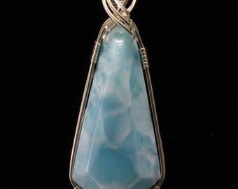 Larimar Pendant. Listing 530557012