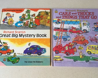 Two Richard Scarry books