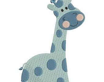 SALE 65% OFF Giraffe Zoo Jungle Machine Embroidery Designs 4x4 & 5x7 Instant Download Sale