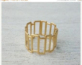 On Sale 40% off, Larsen Ring, geometric ring, Scandinavian design,