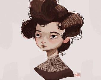 Gibson Girl - Print