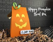 KIT Halloween Treat Box, Party favor, Happy Pumpkin, Teacher Appreciation, Co-Workers Treat,  School Treats, Office Treats, Trick or TreaT