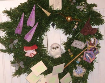 Harry Potter Decorative Wreath