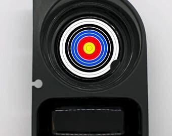 Archery Target Round Car Cupholder Coaster