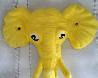Yellow Elephant Hook