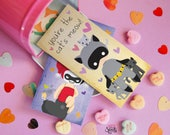 Superhero and Villians Printable Valentines