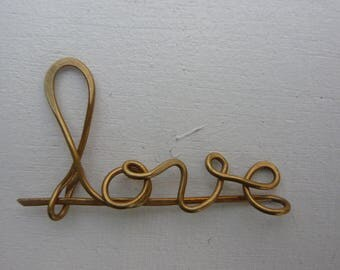 Love Sissi strand steel pin