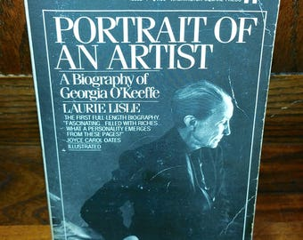 Portrait Of An Artist A Biography Of Georgia O'Keefe Vintage Paperback Book