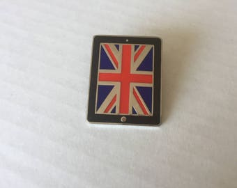 DESTASH: Rare 2012 London Olympics Apple iPad British Union Jack Enamel pin