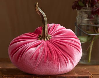 Scented Velvet Pumpkin, FASHION PINK
