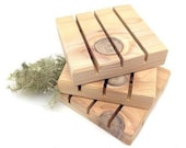 Soap Dish/Soap Deck/Soap Saver/Cedar Soap Dish