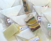 Soap Samples Handmade Soap Samples/shower favors/guest soap/individual samples/one dollar samples