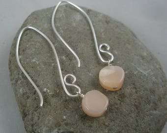 Sterling Silver with Moonstone