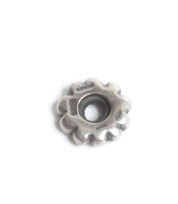 Sterling Silver Spacer Charm Large Hole European Charm Pandora Compatible