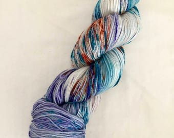 Hand-dyed Merino Sock Wool 4 ply