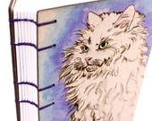 Purple Cat Journal - Lay ...