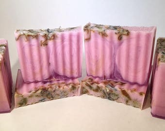Lilac and Rose Soap-Handmade-Glycerin-Natural-Soap-Artisan-Guest Bar-Party Favor-Gift-Abbotsford-BC-Canada