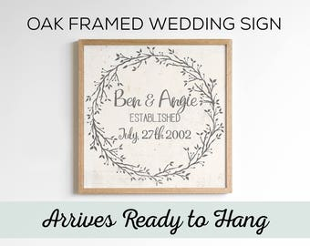 Custom Wedding Gift. Engagement Gifts. Wedding Gift Personalized. Wedding Signs. Anniversary Gift.