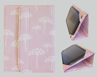 iPad Cover Hardcover, iPad Case, iPad Mini Cover, iPad Mini Case, iPad Air Case, iPad 2, iPad 3, iPad 4, iPad 5 Pink Flower
