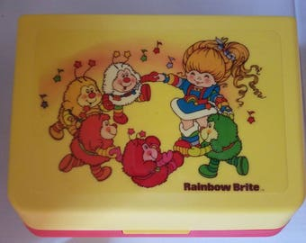 Vintage Rainbow Brite Record Player NEVER USED!!