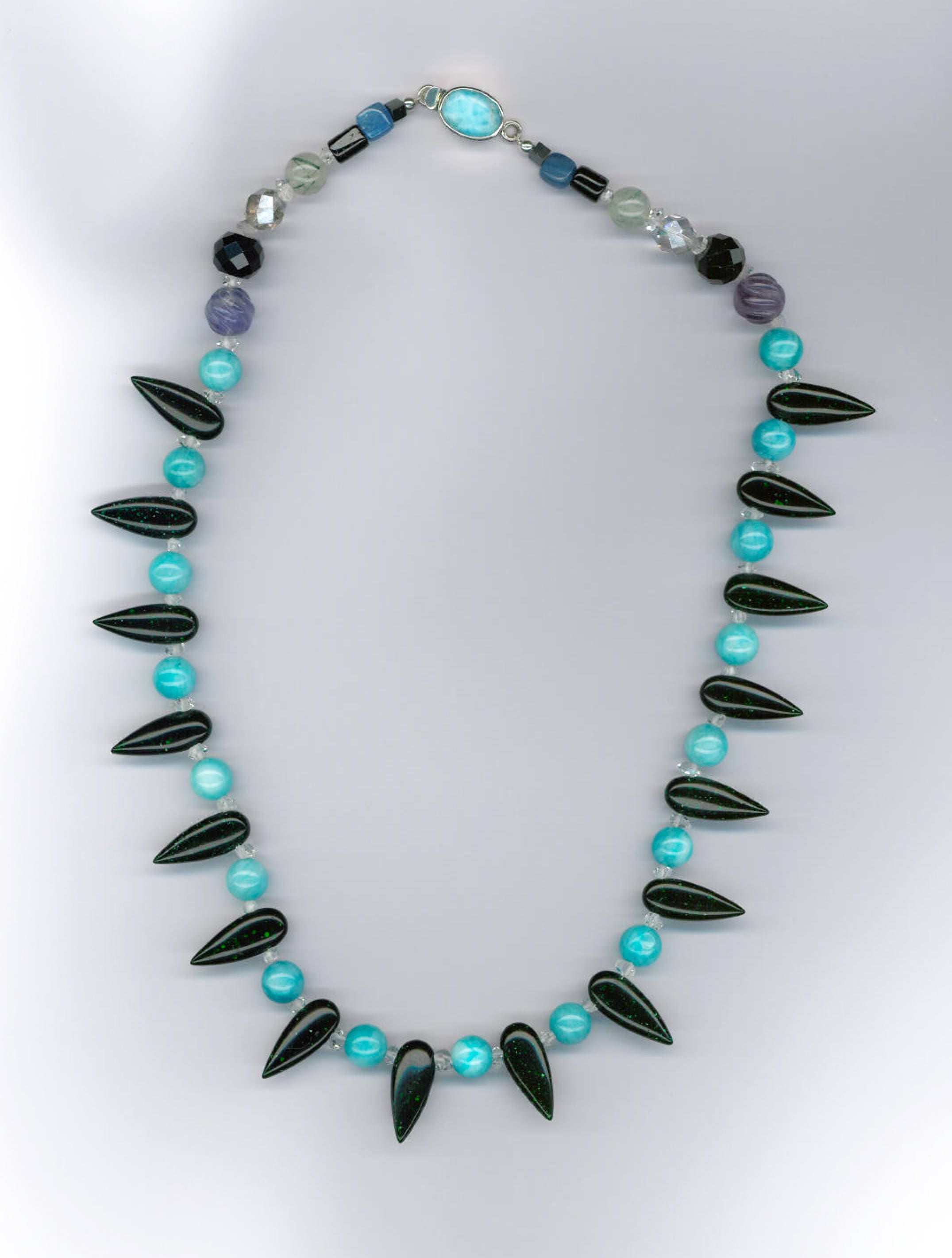 showroom london img necklace old berber product turquoise tibetan tribal tent