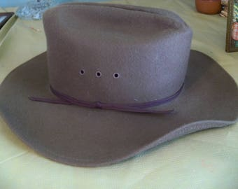 100 percent wool the TEXAN turner hat co. size  xlarge