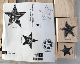 SUPPLY DESTASH - New Stampin' Up! In The Stars Stamp Set