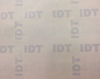"8.5""x 11 IDT Heat Transfer Paper For Dark Fabric 25 Sheets"