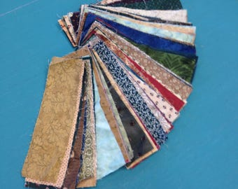 "Fabric Strips (100) 2 1/2"" X 9"""