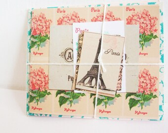 2 Handmade Books. French Gift Tags. Notebooks. Journals. Floral Style. French Style. Victorian French Tags. Handmade Book. Flowers