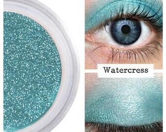 SALE Turquoise Eyeshadow, Mermaid Makeup, Long Lasting, Bright Colorful Eyes, Eyeliner Eye Liner, No Smudge, Sensitive Eyes, Make Up, WATERC