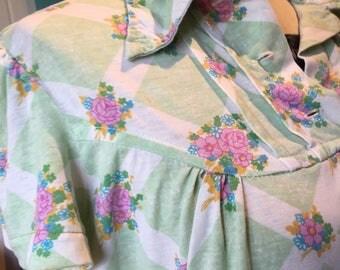 Soft vintage cotton blouse