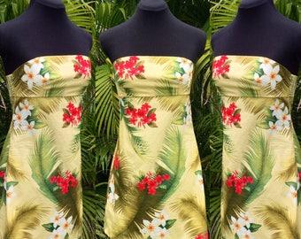 Strapless Hawaiian Dress Juniors