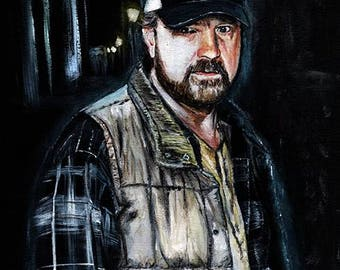 Supernatural Bobby Singer Limited Edition Art Print