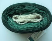 EMERALD --  Color Changing Cotton yarn --  480 yards/100 gr --  Fingering Weight