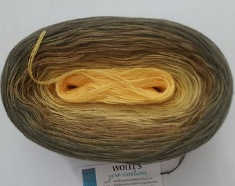 YARROW -- 150 gr/720 yards -- Color Changing Cotton yarn --  Fingering Weight
