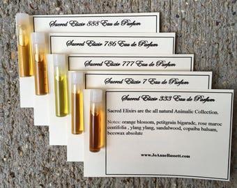 Natural Perfume  - Perfume Samples - Choose 3 - JoAnne Bassett Perfume