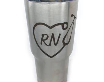 Nurse Tumbler Registered Nurse RN Gift For Nurse Favorite Nurse Nursing School Grad Nurse Gift Registered Nurse Gift 20 oz Tumbler