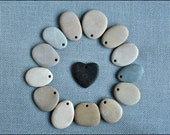 14 Stone pendants/ Special offer/ Supply for rock painters
