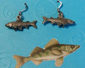 Trout Fishing Earrings